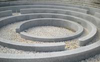 Fontaine d'eau Labyrinthe
