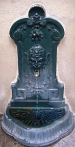 Fontaine Wallace en applique